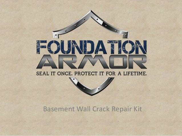 basement wall crack repair kit