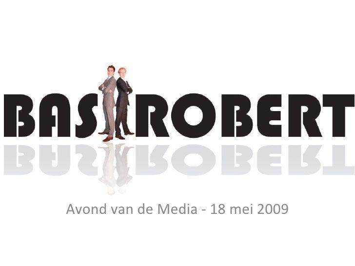 Avond van de Media - 18 mei 2009