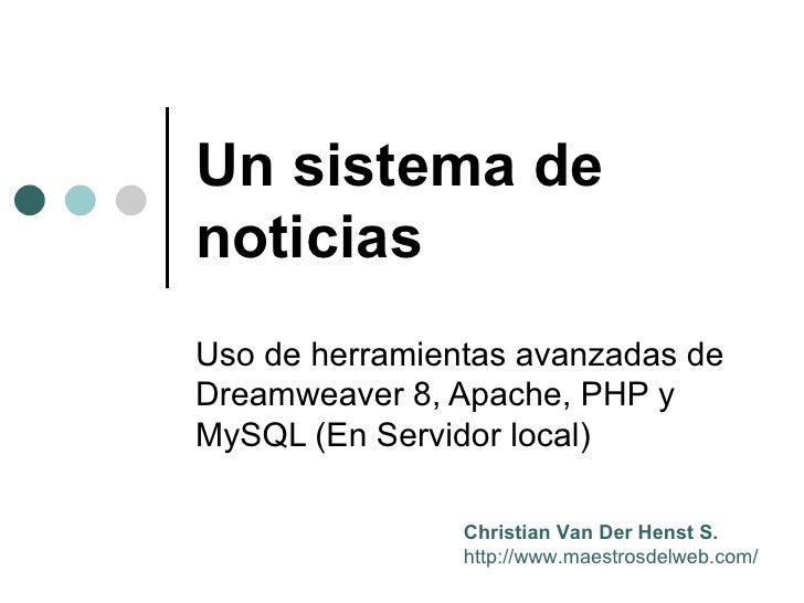 Bases de datos y Dreamweaver