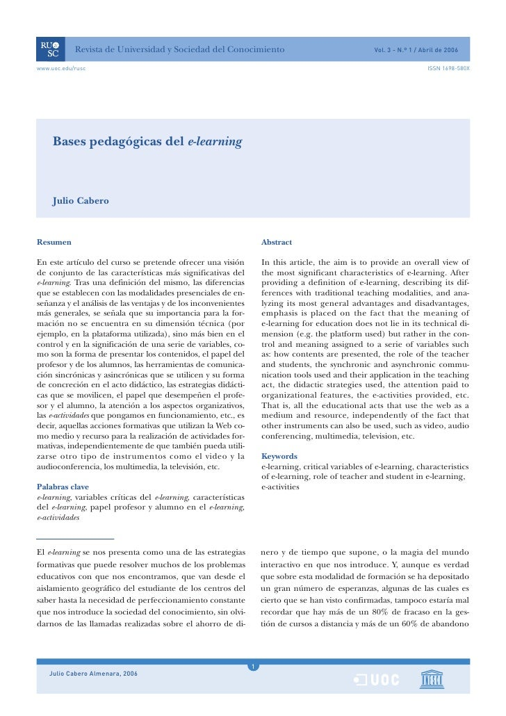 Bases PedagóGicas Del E Learning
