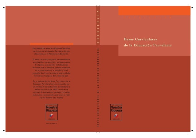 BasesCurriculares delaEducaciónParvularia