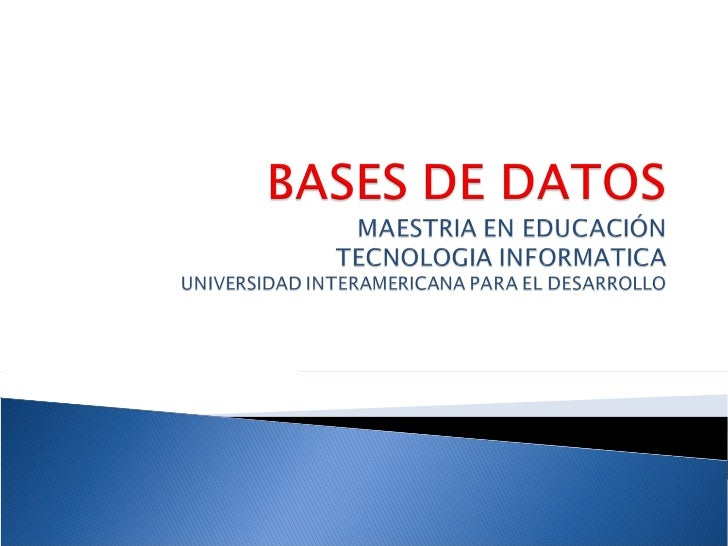 ventajas y desventajas bases de datos