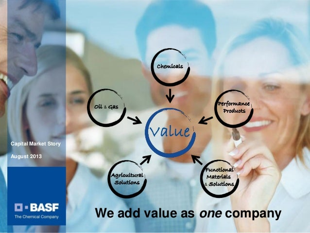BASF Capital Market Story August 2013