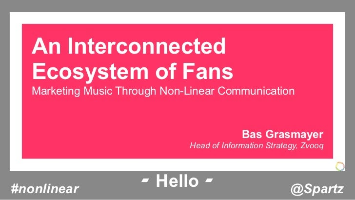 An Interconnected   Ecosystem of Fans   Marketing Music Through Non-Linear Communication                                  ...