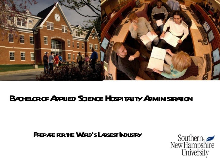 Bachelor of Applied Science Hospitality Administration - SNHU - Intelligent Partners