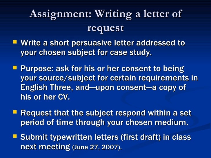 Essay Letter Writing