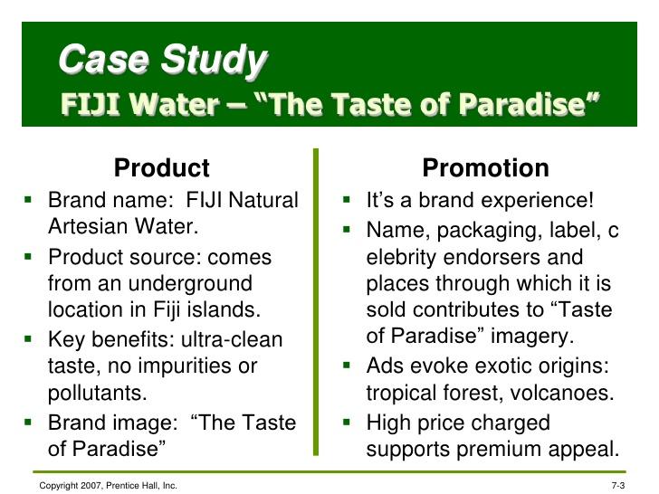 Fiji Water Case Study - Essays - 2209 Words