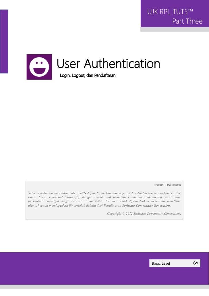 [Basic] 3. user authentication