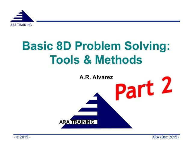 Methods of problem solving
