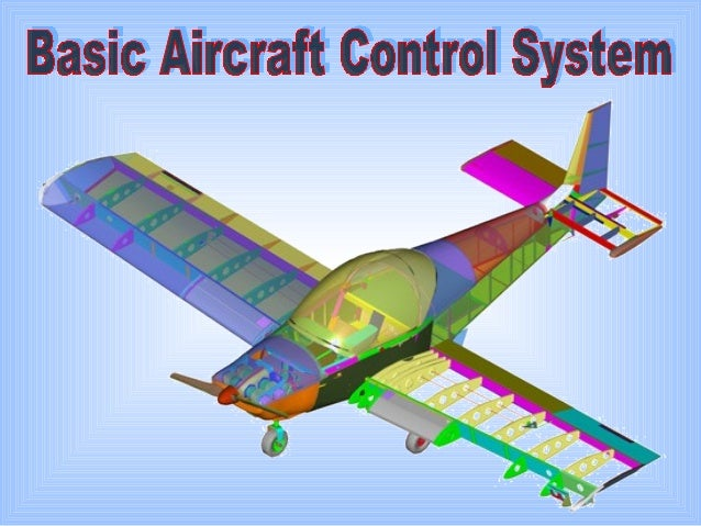Introduction Primary flight control - Elevator Control System - Aileron Control System - Rudder Control System Secondary f...