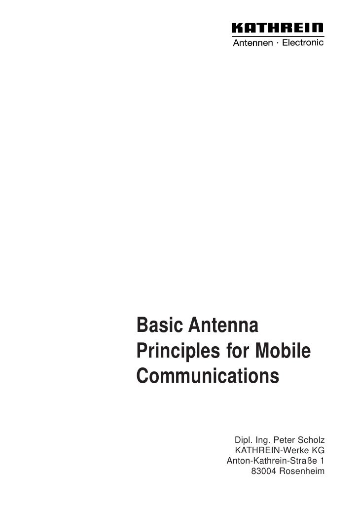 Basic antenna principles