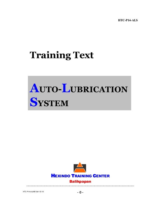 Basic autolube system