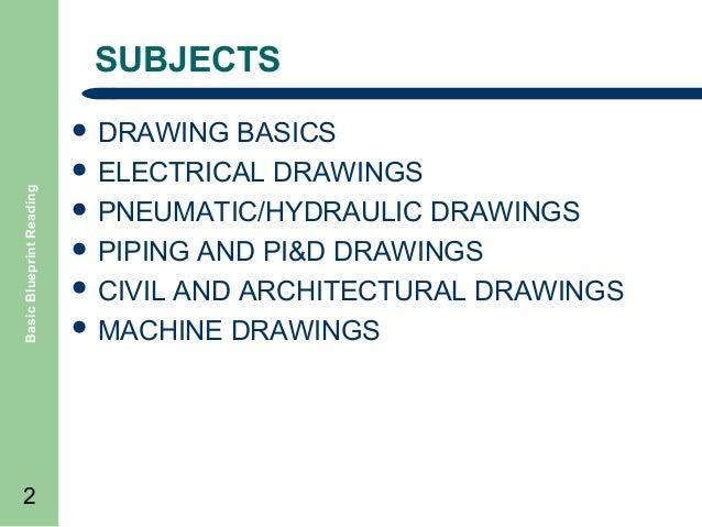 machine blueprint reading