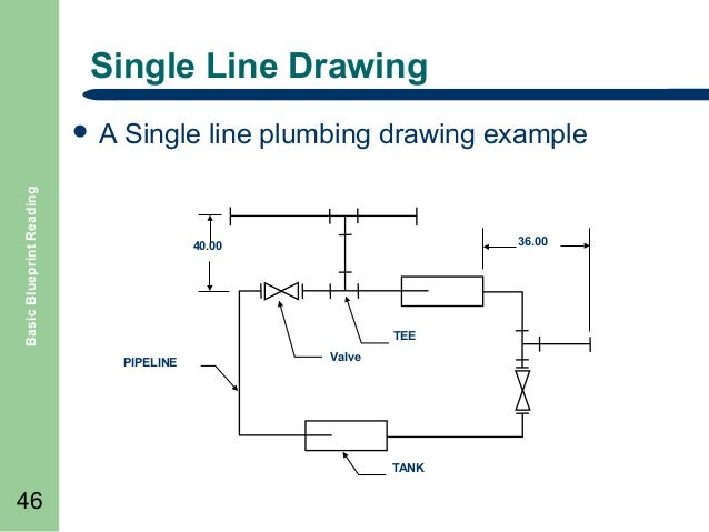 Match Lines on Drawings Single Line Drawing Single