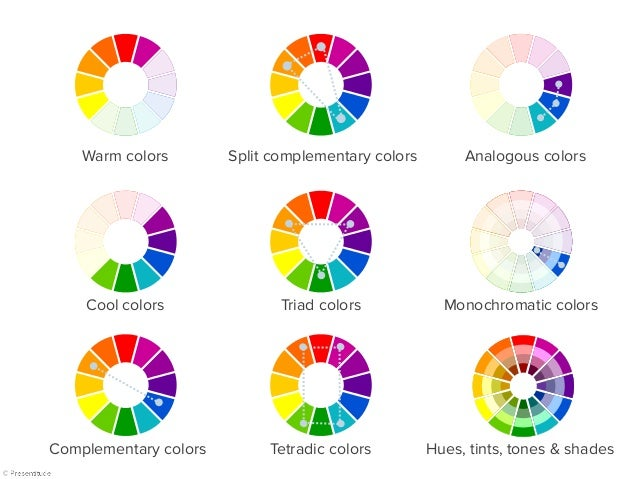 Cool colors split complimentary colors for Analogous colors are
