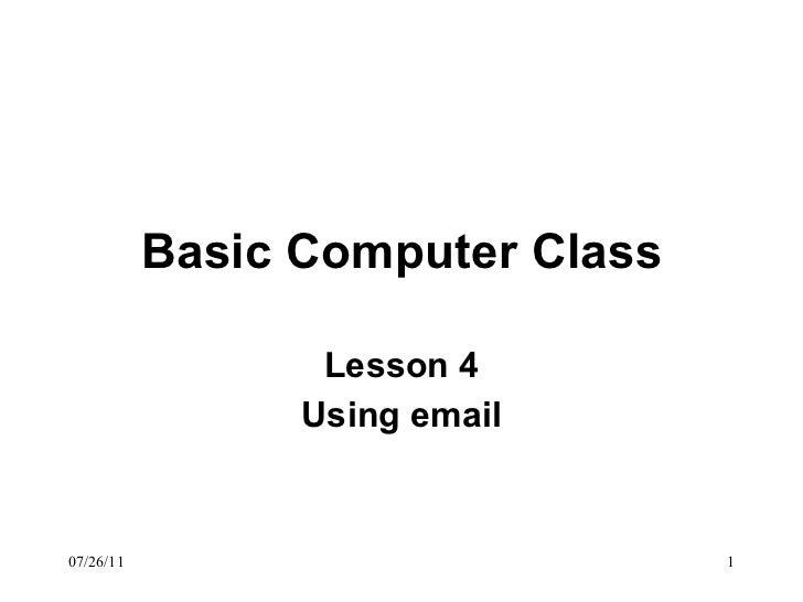 Basic computer class_4