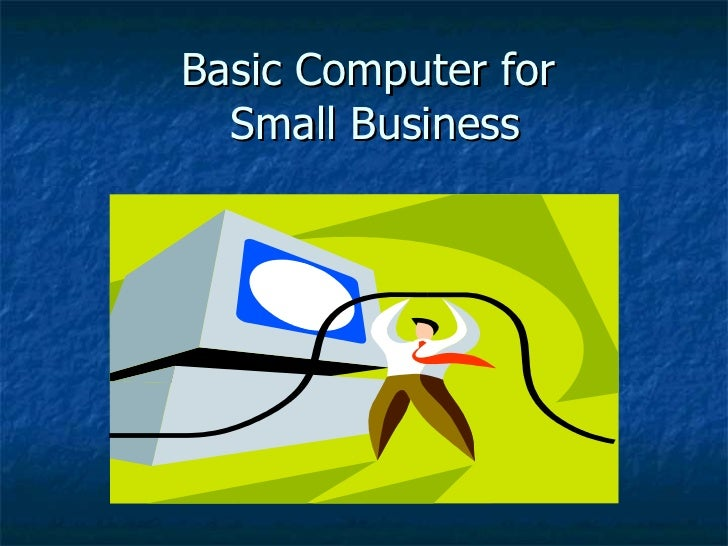 Basic computer for_small_business