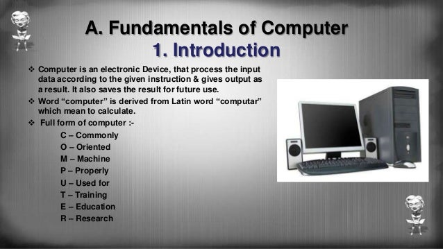 Basic computer skills of BSc IT