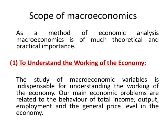 three approaches to simple macro economics Economics and statistics administration consider a simple economy with one product, bread, which is produced in three stages.