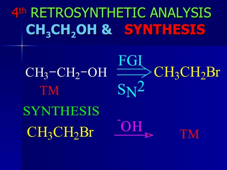 warren retrosynthesis Mechanism mordor search this site home home retrosynthesis the disconnection approach by s warren is also an excellent text book.