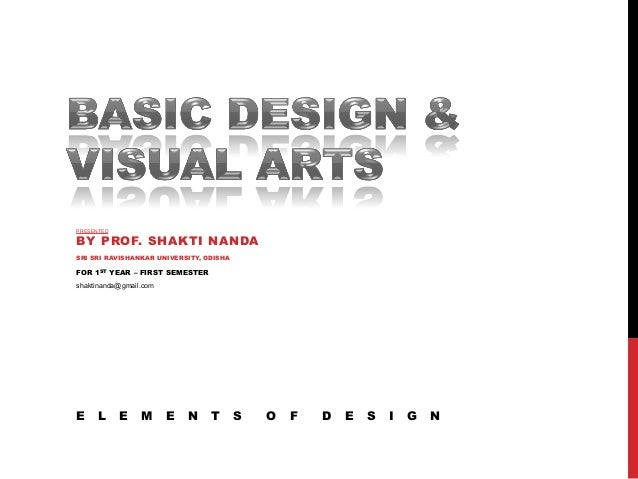 Basic Elements Of Visual Arts : Basic design visual arts elements of