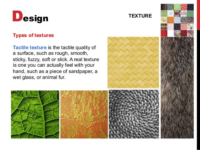 Elements Of Art Texture Definition : Basic design visual arts elements of