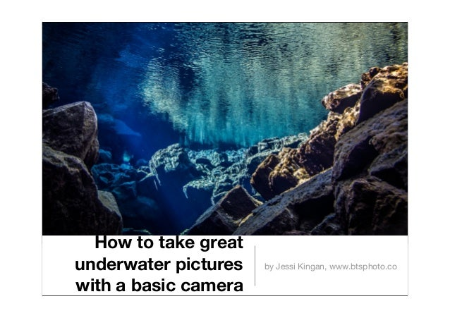 How to take great underwater pictures with a basic camera by Jessi Kingan, www.btsphoto.co