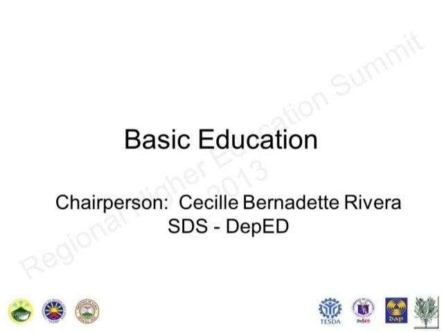 Basic Education Presentation Superfinal