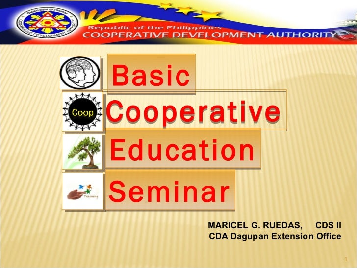 Basic Cooperative Education Seminar