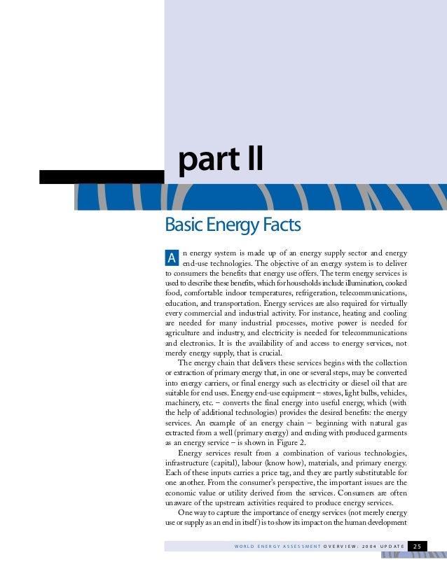 Basic energy facts