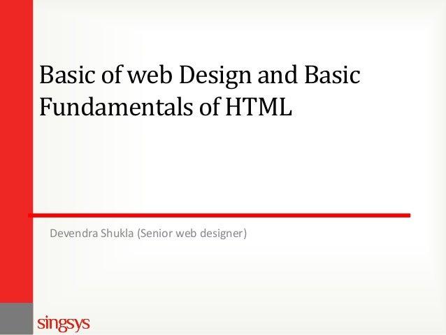 Basic of web design