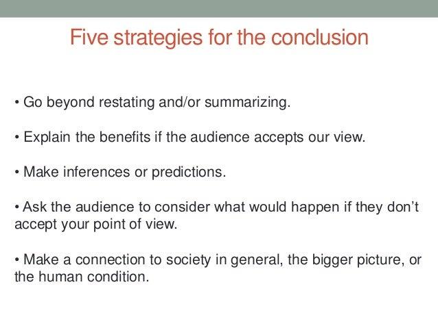 market structure essay conclusion