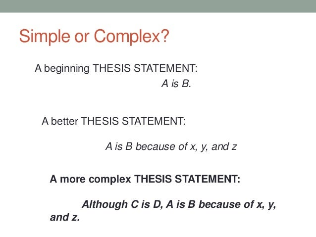 thesis in essay structure As is now obvious, writing a thesis proposal is no mean feat you have to put in a  good amount of work and research and adhere to a rigorous task if your final.