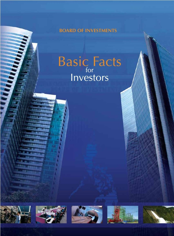 Basic Facts for Philippine investors