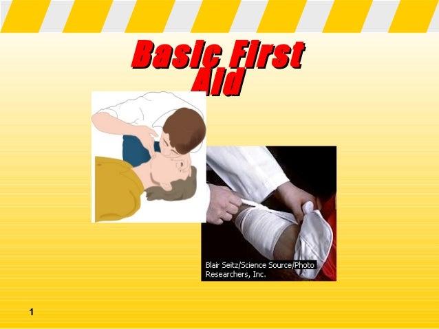 Basic First       Aid1