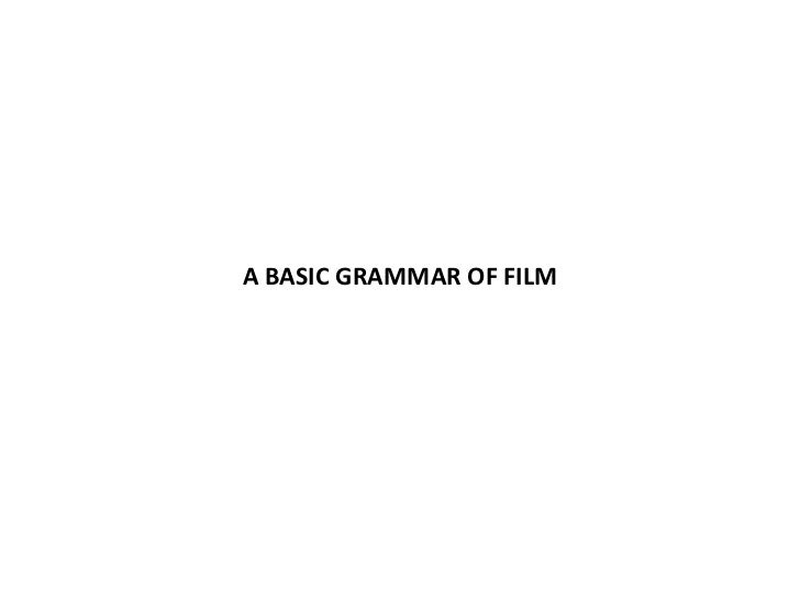 Essay on film