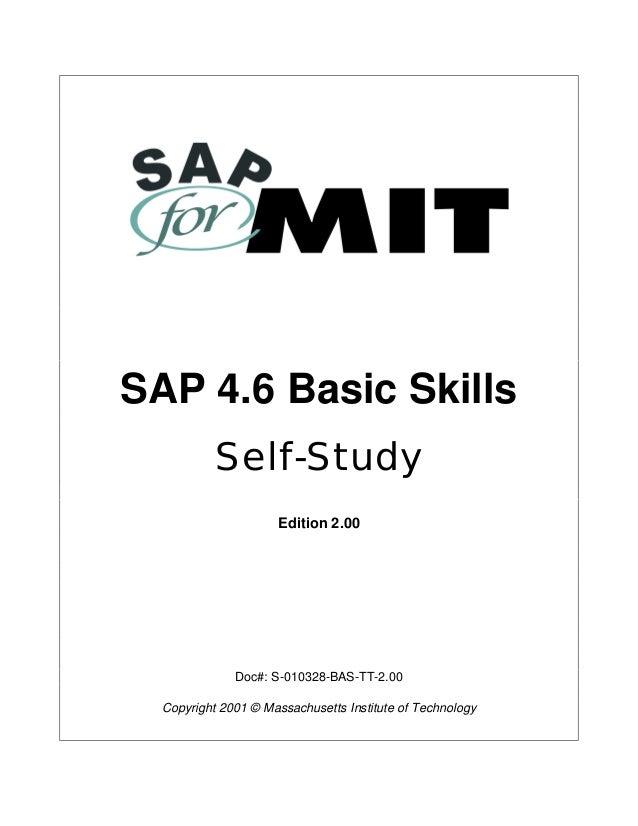 Basic guide of sap
