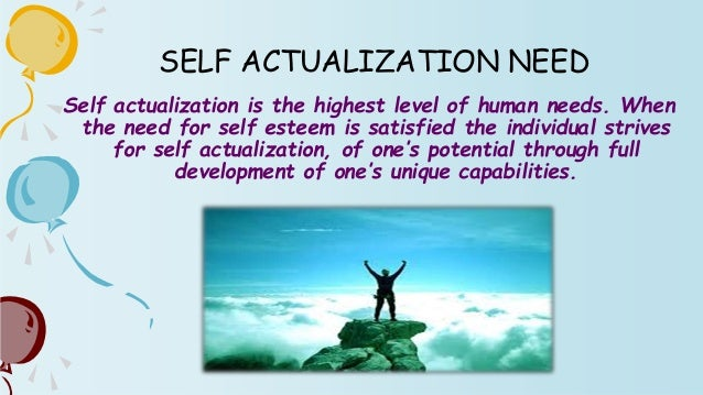 """speech on self actualization Nobel prize speech last written words self-actualization is not a possible aim at all 16 thoughts on """" summary of maslow on self-transcendence."""