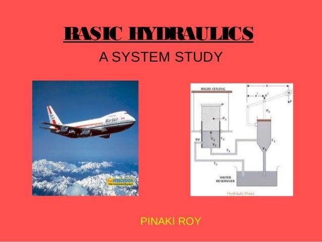 BASIC HYDRAULICS A SYSTEM STUDY  PINAKI ROY