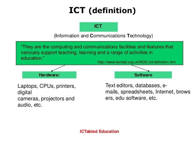 ict definition