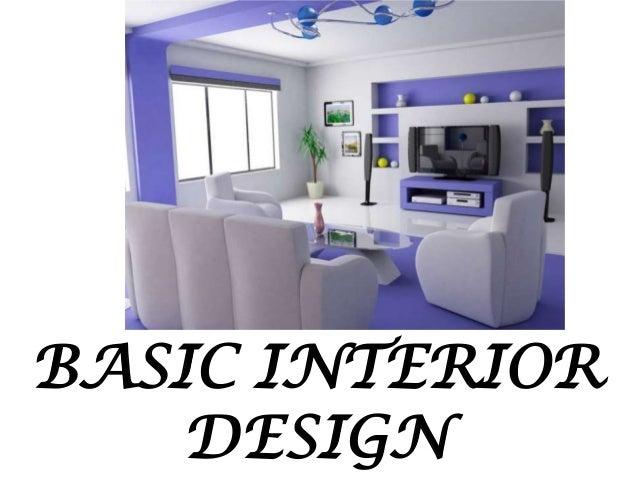 Interior Design Basic Principles Of Home Decoration