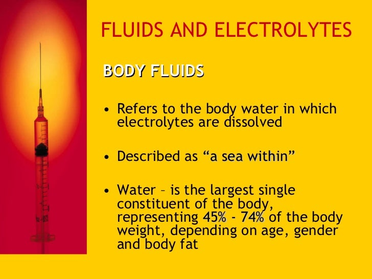 fluid and electrolyte imbalance essay Fluid and electrolyte balance hyponatremia nursing students are always looking for tools to help study disease processes and signs/symptoms hyponatremia is one that all students should know and understand how it can develop.