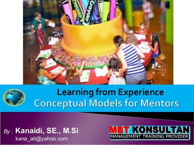 Learning from ExperienceBy :   Kanaidi, SE., M.Si       kana_ati@yahoo.com