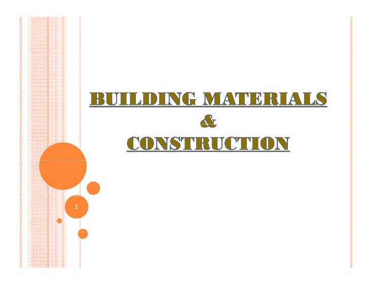Basic materials & structures