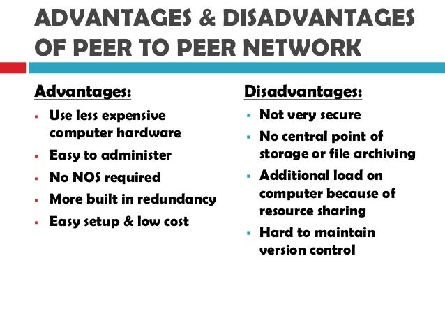 advantages and disadvantages of using networks computer science essay Advantages and disadvantages of using networks computer science essay in used both are networks switched of types two these networks switched circuit over networks switched packet of.