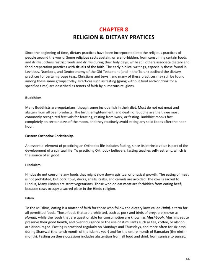 a and w nutrition pdf