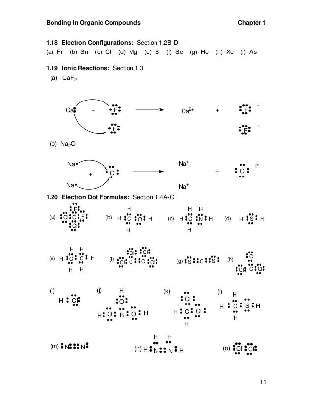 Bonding in Organic Compounds  C2h4br2 Lewis Structure