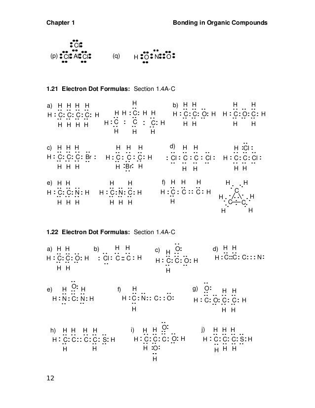 Basic organic chemistry
