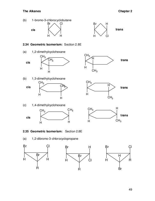 Basic organic chemistry  1,2 Dimethylcyclohexane