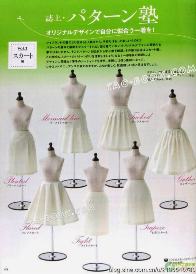 Basic patterns from mrs style book